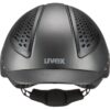 jahalna čelada – uvex exxential II LED grey (3)